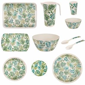 Cambridge COMBO-3676 Polynesia Bamboo Eco-Friendly Tableware - Complete Collection Thumbnail 1