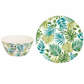 Cambridge COMBO-3676 Polynesia Bamboo Eco-Friendly Tableware - Complete Collection Thumbnail 7