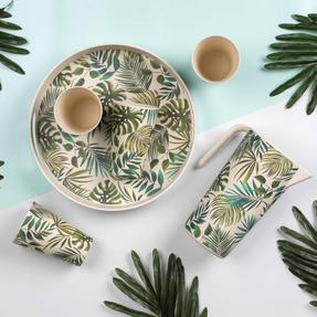 Cambridge COMBO-3676 Polynesia Bamboo Eco-Friendly Tableware - Complete Collection Thumbnail 10