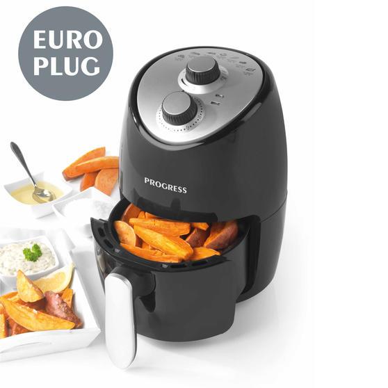 Progress EK2817P-VDE Compact Hot Air Fryer with European Plug, 2 L, 1000 W