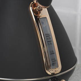 Salter Pyramid Kettle, 1.7 Litre, 3000W, Rose Gold Edition Thumbnail 4