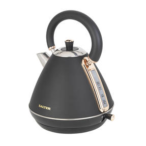 Salter Pyramid Kettle, 1.7 Litre, 3000W, Rose Gold Edition Thumbnail 3