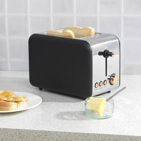 Salter COMBO-3646 1.7 Litre Pyramid Kettle with Two Slice Toaster, Rose Gold Edition Thumbnail 6