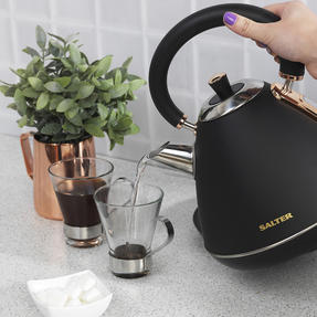 Salter COMBO-3646 1.7 Litre Pyramid Kettle with Two Slice Toaster, Rose Gold Edition Thumbnail 7