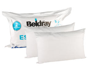 Beldray COMBO-3379 Essential Pillow, Pack of 4, White