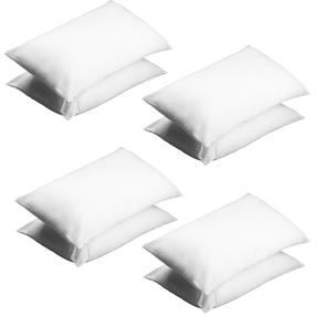 Beldray COMBO-3369 Deep Fill Pillow, Pack of 8, White Thumbnail 2