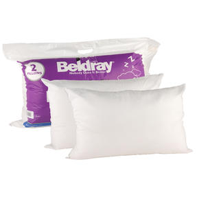 Beldray COMBO-3369 Deep Fill Pillow, Pack of 8, White Thumbnail 4