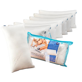Dreamtime COMBO-3471 Memory Foam Choice Comfort Pillow, Set of 8