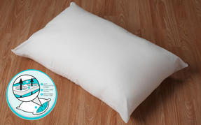 Dreamtime COMBO-3403 Airfresh Breathable Pillow, Polyester, Set of 2, White Thumbnail 5