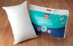 Dreamtime COMBO-3403 Airfresh Breathable Pillow, Polyester, Set of 2, White Thumbnail 6