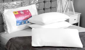 Dreamtime COMBO-3375 Softly Snug Memory Foam Pillow, Set of 4, White Thumbnail 2