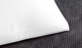 Dreamtime COMBO-3375 Softly Snug Memory Foam Pillow, Set of 4, White Thumbnail 4