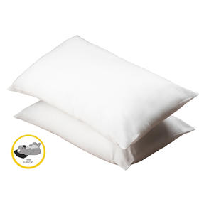 Dreamtime COMBO-3393 Super Bounce 13.5 Tog Duvet with Twin Pack Pillows, Single, Polyester, White Thumbnail 7
