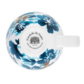 Portobello CM04909 Montreal Bone China Cup and Saucer, Set of 6 Thumbnail 4
