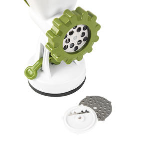 Salter BW06543AR Meat Mincer with Two Blade Attachments, White/Green Thumbnail 4