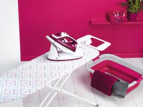 Kleeneze KL058270UKDIAEU Diamond Stripe Foldable Ironing Board, 114 x 34 cm Thumbnail 5
