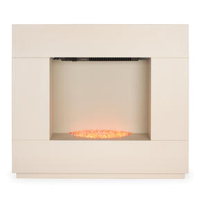 Beldray EH1856CRMSTK Sorrento Electric Fire Suite, 1000/2000W, Cream Thumbnail 2