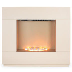 Beldray EH1856CRMSTK Sorrento Electric Fire Suite, 1000/2000W, Cream Thumbnail 4
