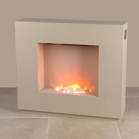 Beldray EH1856CRMSTK Sorrento Electric Fire Suite, 1000/2000W, Cream Thumbnail 6