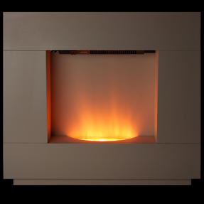 Beldray EH1856CRMSTK Sorrento Electric Fire Suite, 1000/2000W, Cream Thumbnail 8