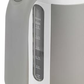Kenwood ZJM400TT K-Sense Kettle, 1.6 Litre, 3000 W, White/Silver Thumbnail 5