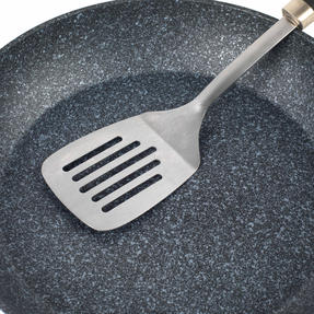 Salter Megastone Collection Non-Stick Forged Aluminium Frying Pan, 30 cm, Silver Thumbnail 4