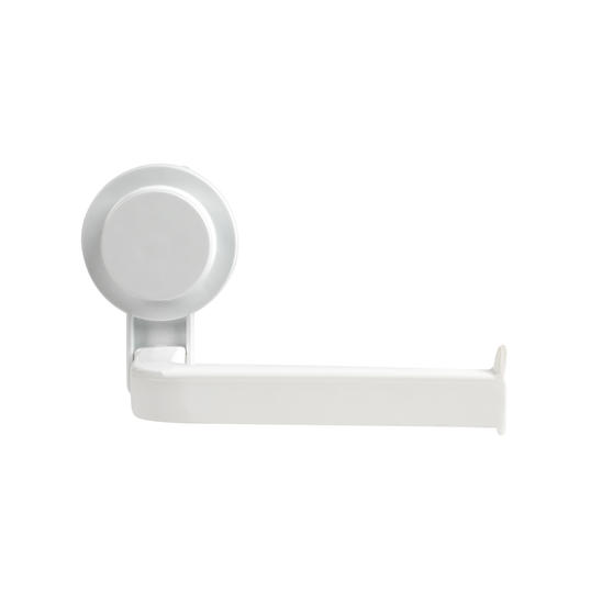 Beldray Suction Toilet Roll Holder, ABS Plastic, White