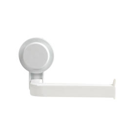 Beldray LA050755EU Suction Toilet Roll Holder, ABS Plastic, White