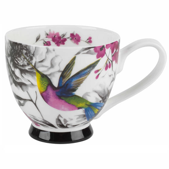 Portobello Isidora Bone China Footed Mug