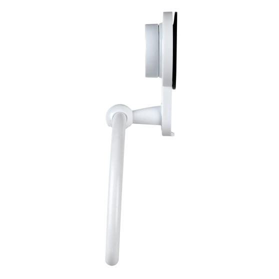 Beldray Bathroom Suction Towel Ring, Plastic, White Thumbnail 5