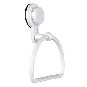 Beldray LA046574EU Bathroom Suction Towel Ring, Plastic, White Thumbnail 2