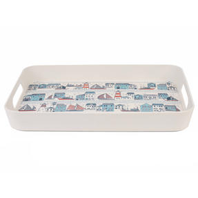 Cambridge CM06403 Plymouth Large Reusable Tray With Side Handles, 40 cm | Perfect for Serving Drinks at Parties Thumbnail 2