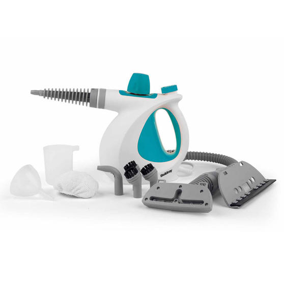 Beldray 10-in-1 Handheld Steam Cleaner, 1000 W, Turquoise