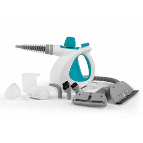 Beldray BEL0701TQN 10-in-1 Handheld Steam Cleaner, 1000 W, Turquoise