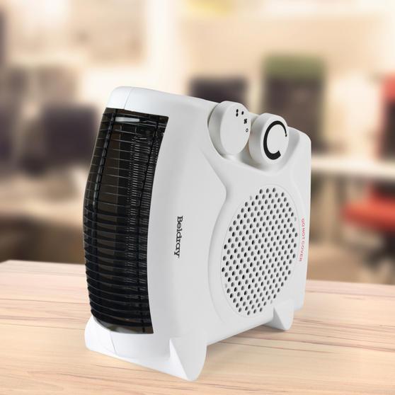 Beldray Flat Fan Portable Heater, 1000-2000W Thumbnail 4