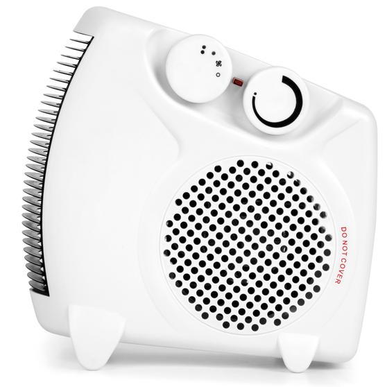 Beldray Flat Fan Portable Heater, 1000-2000W Thumbnail 6
