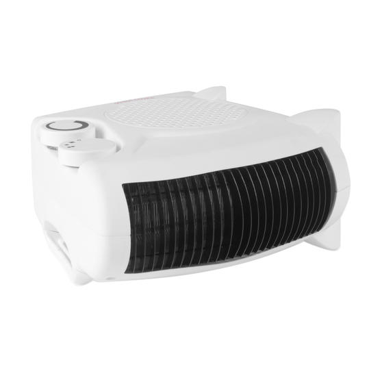 Beldray Flat Fan Portable Heater, 1000-2000W Thumbnail 3