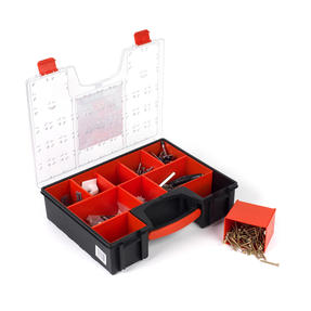 Black + Decker COMBO-3944 Set of 10 Eight Compartment Pro Organisers, 7.2 L, 42.2 cm x 33.5 cm x 10.6 cm Thumbnail 5