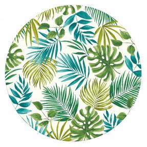Cambridge CM06204 Reusable Lightweight Dinner Plates, 25 cm, Polynesia Print, Set of 4 | Dishwasher Safe | BPA Free | Alternative to Single Use Plastics Thumbnail 1