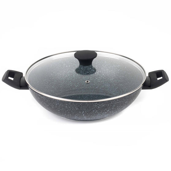 Salter Megastone Collection Non-Stick Forged Aluminium Family Frying Pan - Single