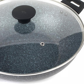 Salter Megastone Collection Non-Stick Forged Aluminium Family Frying Pan - Single Thumbnail 4