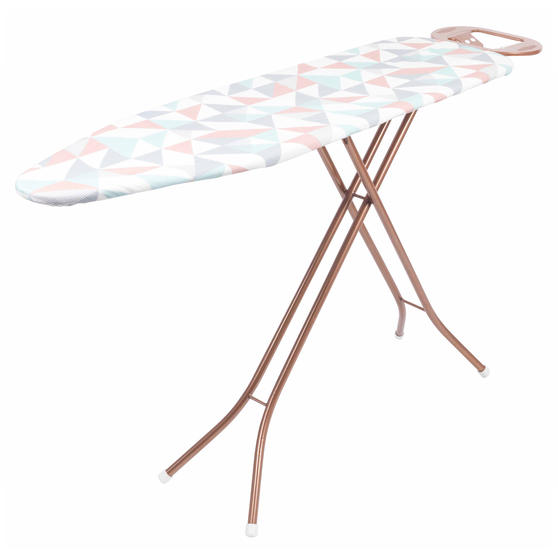 Beldray Glisten Foldable Ironing Board, 137 x 38 cm, Rose Gold Thumbnail 2