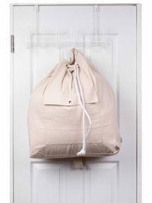 Beldray LA055170EU Oversized Laundry Canvas Backpack, Cotton, Cream Thumbnail 8