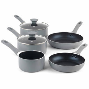 Salter Crystalstone Non-Stick Complete Cookware Collection with Pans and Nylon Utensils, 13 Piece Set Thumbnail 5