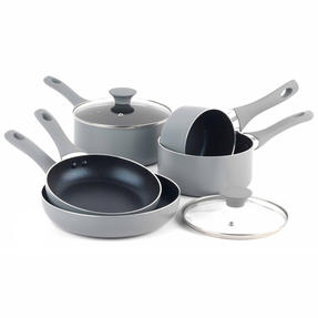 Salter Crystalstone Non-Stick Complete Cookware Collection with Pans and Nylon Utensils, 13 Piece Set Thumbnail 7