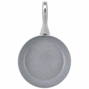 Salter Marble Collection Non-Stick Complete Family Pan and Frying Pan 30 cm, Grey Thumbnail 9