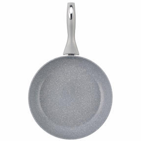 Salter COMBO-3935 Marble Collection Non-Stick Complete Family Pan and Frying Pan with Nylon Slotted Spatula, 30 cm, Grey Thumbnail 9