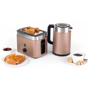 Salter EK3215CHAMPAGNE Vega Two-Slice Toaster, 930 W, Metallic Champagne Thumbnail 10
