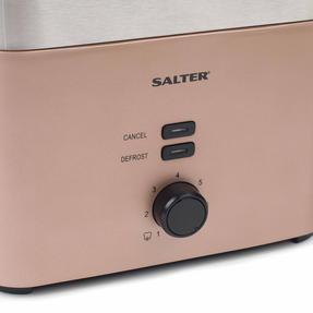 Salter EK3215CHAMPAGNE Vega Two-Slice Toaster, 930 W, Metallic Champagne Thumbnail 2