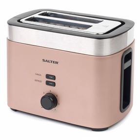 Salter EK3215CHAMPAGNE Vega Two-Slice Toaster, 930 W, Metallic Champagne Thumbnail 8